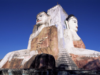 450-2416buddha-statues-kyaik-pun-built-in-1476-near-bago-myanmar-burma-posters