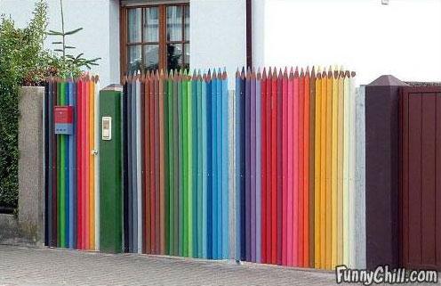 color-pencil-fence