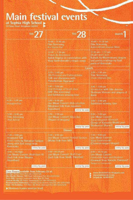 orange-festival-schedule